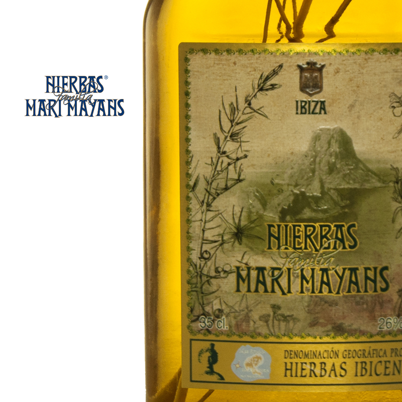 "Bild von Hierbas Ibicencas ""RAMA"" (0,35 L) - Kräuterlikör - Familia Marí Mayans"