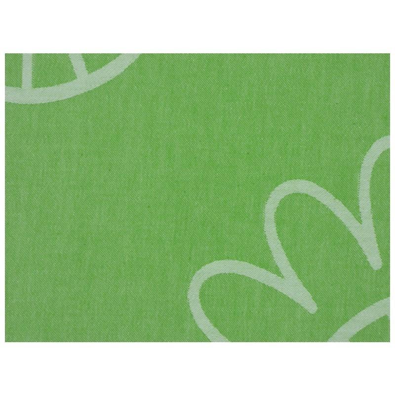 """Strandtuch """"Cala Vedella"""" (100 x 190 cm) - Fresh Apple - Vorderseite Detail"""