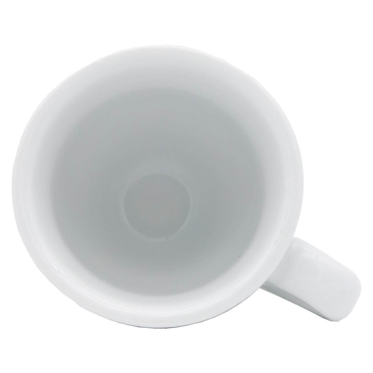 """Bild von Espresso Tasse """"Cafés Ibiza"""" aus weißer Keramik (50 ml)"""
