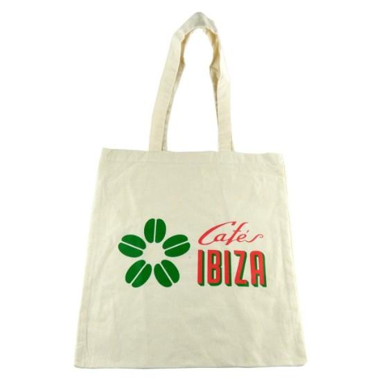 """Bild von Baumwoll Tragetasche """"Cafés Ibiza"""""""