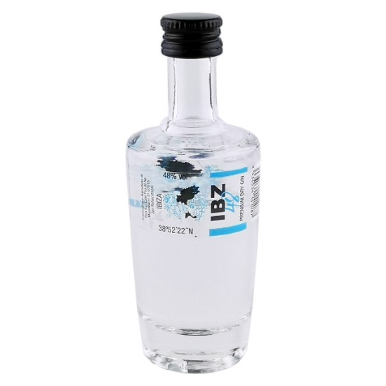 Bild von IBZ 48 Premium Dry Gin (0,04 L) in der Mini-Flasche - Familia Marí Mayans