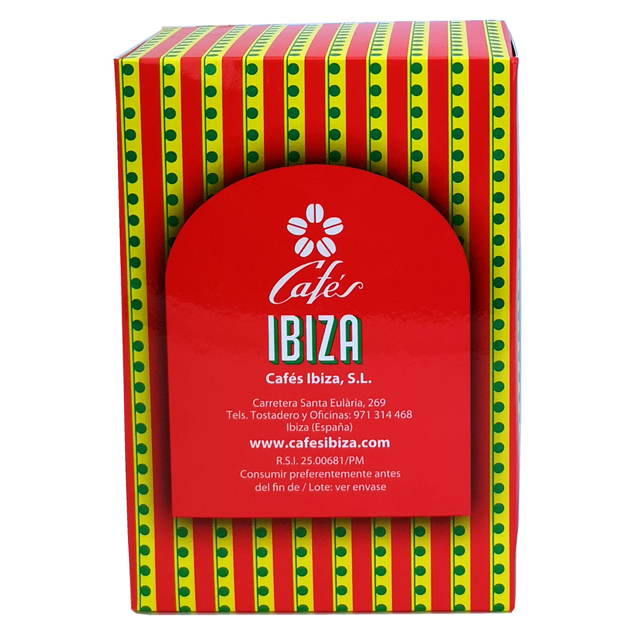 Bild von Kaffee - Cafés Ibiza Espresso-Kapseln passend für Nespresso