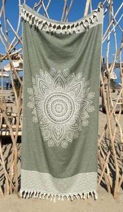 """Bild von Strandtuch """"Cala Moli"""" (95 x 200 cm) - Chive Green"""